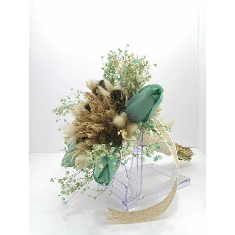 Gelin Buketi Yeşil - BKT001