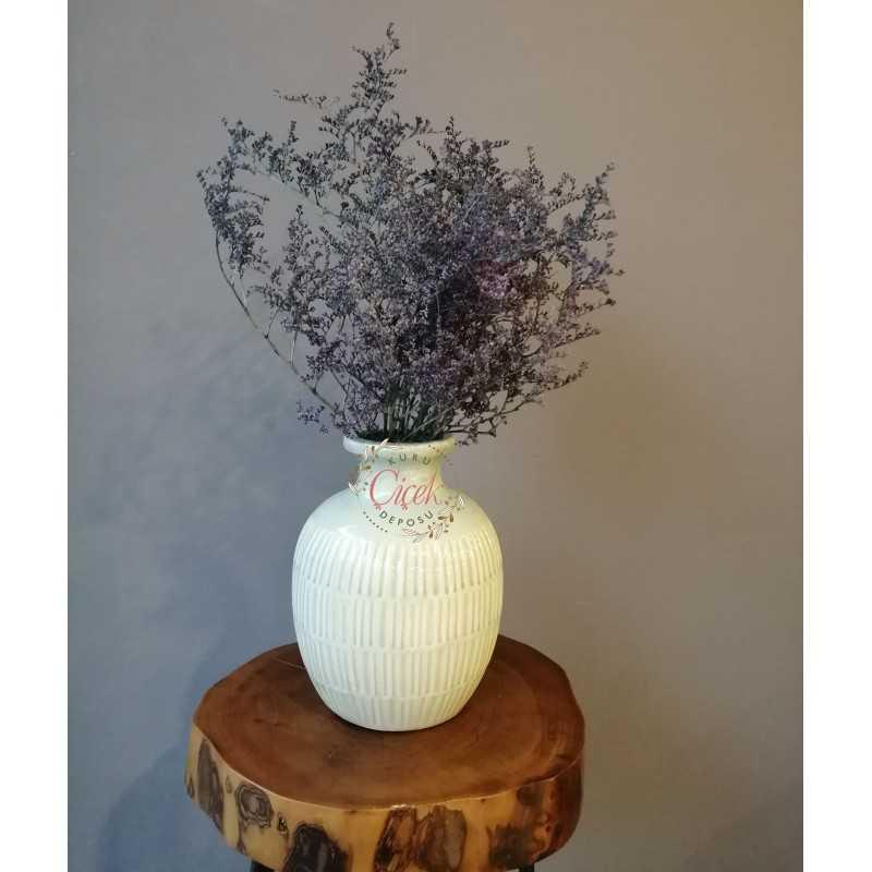 Deniz Otu - Tatarika Kuru Çiçek (Lacivert) - 20201000903