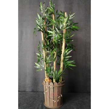 Yapay Ağaç - Bambu 6 Gövdeli (115 cm) - 20420201304