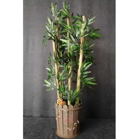 Yapay Ağaç - Bambu 6 Gövdeli (115 cm)
